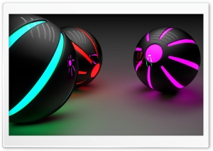 Luminic Spheres HD Wide Wallpaper for Widescreen