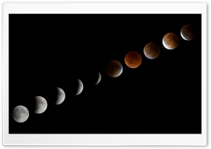 Lunar Eclipse September 2015 HD Wide Wallpaper for 4K UHD Widescreen desktop & smartphone