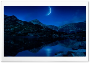 Lune Ascendante HD Wide Wallpaper for 4K UHD Widescreen desktop & smartphone