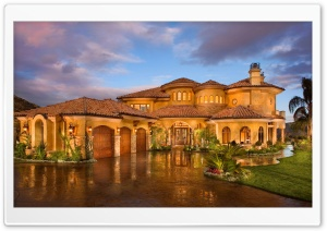 Luxury House HD Wide Wallpaper for Widescreen