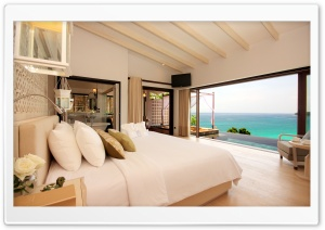 Luxury Resort Room HD Wide Wallpaper for Widescreen