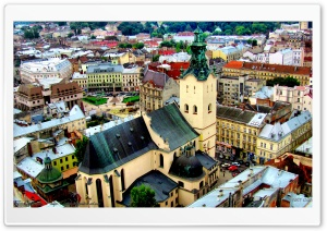 Lviv, Ukraine HD Wide Wallpaper for 4K UHD Widescreen desktop & smartphone