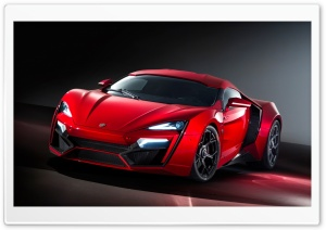Lykan Hypersport Hypercar HD Wide Wallpaper for Widescreen