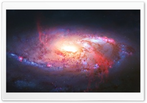 M106 Galaxy HD Wide Wallpaper for Widescreen