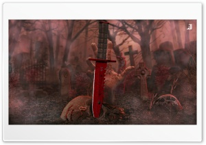 M9 Bayonet Crimson Web Ultra HD Wallpaper for 4K UHD Widescreen desktop, tablet & smartphone