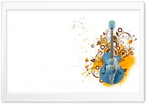 M Guitar HD Wide Wallpaper for Widescreen