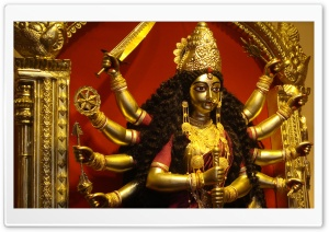 Maa Durga HD Wide Wallpaper for 4K UHD Widescreen desktop & smartphone