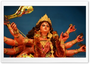 MAA DURGA Indian God HD Wide Wallpaper for Widescreen