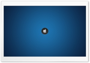 Mac - Blue Background HD Wide Wallpaper for Widescreen