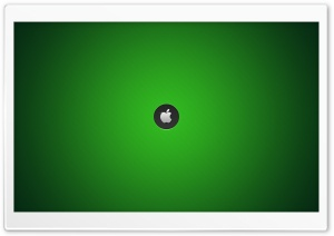 Mac - Green Background HD Wide Wallpaper for Widescreen