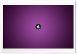Mac - Purple Background HD Wide Wallpaper for Widescreen