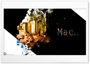 Mac OS X - Abstract Simplicity HD Wide Wallpaper for Widescreen