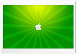 Mac Think Green HD Wide Wallpaper for Widescreen
