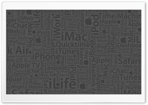 Mac Typography HD Wide Wallpaper for Widescreen