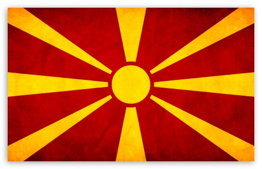 Macedonian Flag 4K HD ...