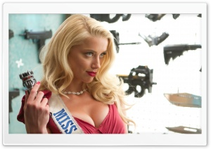 Machete Kills Amber Heard 2013 HD Wide Wallpaper for Widescreen