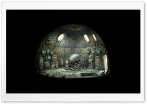 Machinarium Game Ultra HD Wallpaper for 4K UHD Widescreen desktop, tablet & smartphone