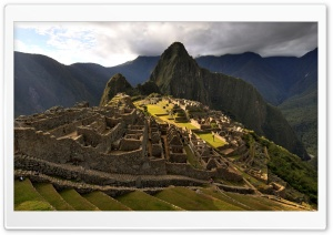 Machu Picchu Landscapes HD Wide Wallpaper for Widescreen