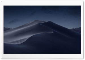 macOS Mojave Night Ultra HD Wallpaper for 4K UHD Widescreen desktop, tablet & smartphone