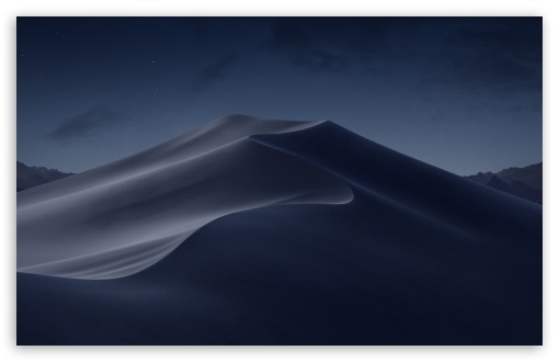 Download macOS Mojave Night HD Wallpaper