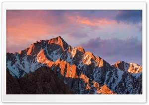 macOS Sierra HD Wide Wallpaper for Widescreen