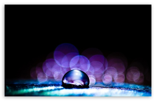 Macro Water Drop HD desktop wallpaper : High Definition