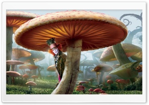 Mad Hatter, Alice In Wonderland HD Wide Wallpaper for Widescreen