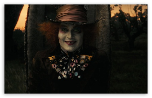 Mad Hatter, Alice In Wonderland (2010) 4K HD Desktop ...