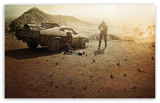Mad Max Fury Road 2015 4K HD Desktop Wallpaper For 4K