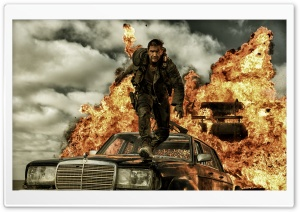 Mad Max Fury Road 2015 Movie Tom Hardy HD Wide Wallpaper for 4K UHD Widescreen desktop & smartphone