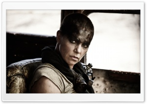 Mad Max Fury Road Charlize Theron 2015 HD Wide Wallpaper for Widescreen