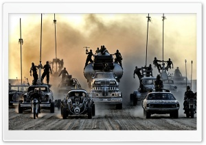 Mad Max Fury Road Vehicles HD Wide Wallpaper for Widescreen