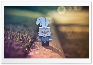 Mad Ninja Rabbit HD Wide Wallpaper for Widescreen