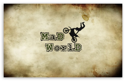Mad World HD wallpaper for Wide 16:10 5:3 Widescreen WHXGA WQXGA WUXGA WXGA WGA ; HD 16:9 High Definition WQHD QWXGA 1080p 900p 720p QHD nHD ; Standard 4:3 5:4 3:2 Fullscreen UXGA XGA SVGA QSXGA SXGA DVGA HVGA HQVGA devices ( Apple PowerBook G4 iPhone 4 3G 3GS iPod Touch ) ; Tablet 1:1 ; iPad 1/2/Mini ; Mobile 4:3 5:3 3:2 16:9 5:4 - UXGA XGA SVGA WGA DVGA HVGA HQVGA devices ( Apple PowerBook G4 iPhone 4 3G 3GS iPod Touch ) WQHD QWXGA 1080p 900p 720p QHD nHD QSXGA SXGA ; Dual 16:10 5:3 16:9 4:3 5:4 WHXGA WQXGA WUXGA WXGA WGA WQHD QWXGA 1080p 900p 720p QHD nHD UXGA XGA SVGA QSXGA SXGA ;