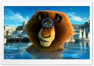 Madagascar 3 Alex HD Wide Wallpaper for Widescreen