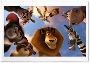 Madagascar 3 Animals HD Wide Wallpaper for Widescreen