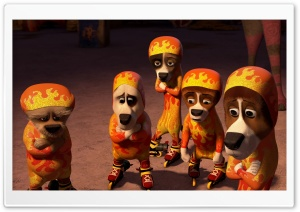 Madagascar 3 Circus Animals HD Wide Wallpaper for Widescreen