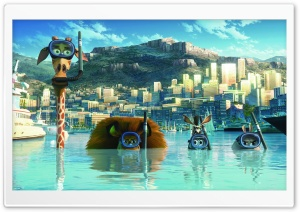 Madagascar 3 Europe's Most Wanted HD Wide Wallpaper for Widescreen