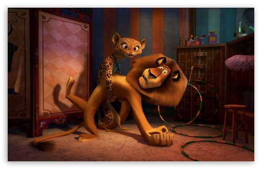 Madagascar 3 Europes Most Wanted - Alex and Gia HD wallpaper for Wide 16:10 5:3 Widescreen WHXGA WQXGA WUXGA WXGA WGA ; HD 16:9 High Definition WQHD QWXGA 1080p 900p 720p QHD nHD ; Standard 4:3 5:4 3:2 Fullscreen UXGA XGA SVGA QSXGA SXGA DVGA HVGA HQVGA devices ( Apple PowerBook G4 iPhone 4 3G 3GS iPod Touch ) ; Tablet 1:1 ; iPad 1/2/Mini ; Mobile 4:3 5:3 3:2 16:9 5:4 - UXGA XGA SVGA WGA DVGA HVGA HQVGA devices ( Apple PowerBook G4 iPhone 4 3G 3GS iPod Touch ) WQHD QWXGA 1080p 900p 720p QHD nHD QSXGA SXGA ;