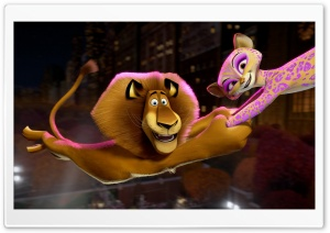 Madagascar 3 Europe's Most Wanted Circus HD Wide Wallpaper for Widescreen