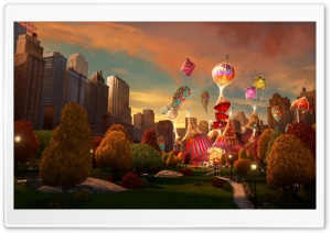 Madagascar 3 Europe's Most Wanted New York Circus HD Wide Wallpaper for Widescreen
