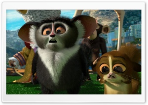 Madagascar 3 Mort HD Wide Wallpaper for Widescreen