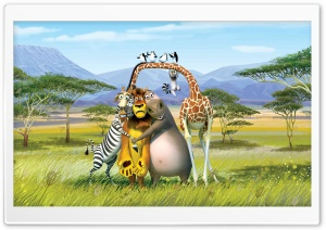 Madagascar The Crate Escape HD Wide Wallpaper for Widescreen