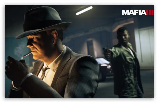 Mafia 3 Office Takedown Ultra Hd Desktop Background