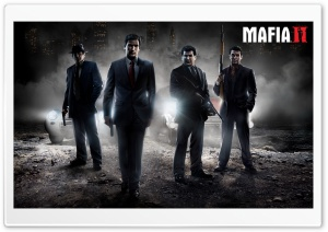 Mafia II HD Wide Wallpaper for 4K UHD Widescreen desktop & smartphone