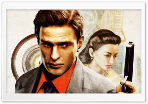 Mafia II Artwork HD Wide Wallpaper for 4K UHD Widescreen desktop & smartphone
