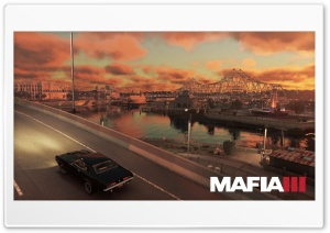 Mafia III HD Wide Wallpaper for 4K UHD Widescreen desktop & smartphone