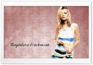 Magdalena Frackowiak HD Wide Wallpaper for Widescreen
