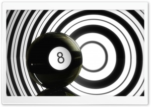 Magic 8 Ball HD Wide Wallpaper for 4K UHD Widescreen desktop & smartphone