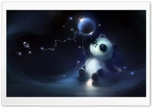 Magic Bubbles HD Wide Wallpaper for Widescreen
